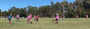 women's social football